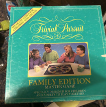 Trivial Pursuit Family Edition Master Game Ed 1992 Cards For Children Adults EUC - $19.79