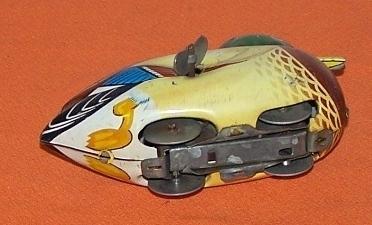 Mallard Duck Wind Up Toy M. Japan