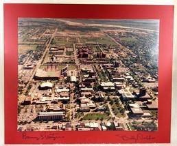 Barry Switzer Billy Tubbs Autograph Photo NCAA University of Oklahoma So... - $291.00