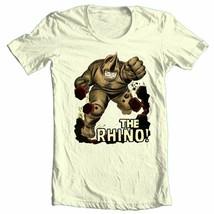 THE RHINO T-shirt vintage Silver Age comic book villain superhero cartoon tee image 2
