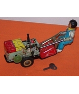 Rota Tiller Tractor Wind Up Toy  - $85.00