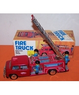 Friction Fire Truck With Siren Toy  - $100.00