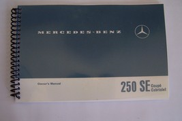 1966 1967  Mercedes 250sec Owners Manual reprint w111 new spiral bound 1968 - $79.19
