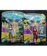2 1992 Playmates Star Trek: The Next Generation Deanna Troi Figures Not ... - $15.83