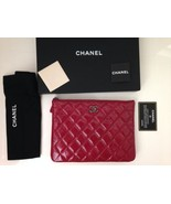 Chanel Quilted Case, Pouch, Clutch Bag- Paris Dallas Collection -NEW -2014 - $1,282.05