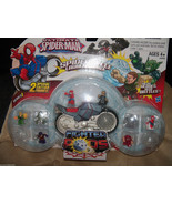 Marvel Ultimate Spider-Man Fighter Pods Spider Cycle Launcher Pack NEW L... - $29.88