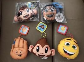 Lot of 5 McDonald's Happy Meal Toys 2017 The Emoji Movie Gene Monkey Hi-... - $1.99