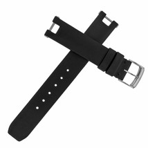 Baume et Mercier Linea 16mm Black Satin Leather Ladies Watch Band - $119.00