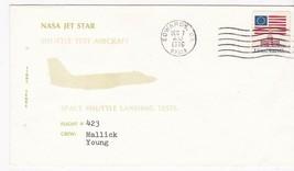 NASA JET STAR SHUTTLE TEST AIRCRAFT FLIGHT #423 MALLICK-YOUNG EDWARDS CA... - $1.98