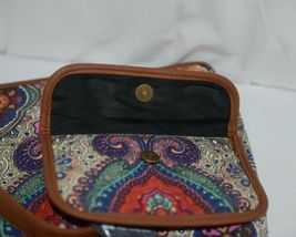 Howards Product Number 68985 Large Shoulder Bag Multi Color Paisley Print image 4