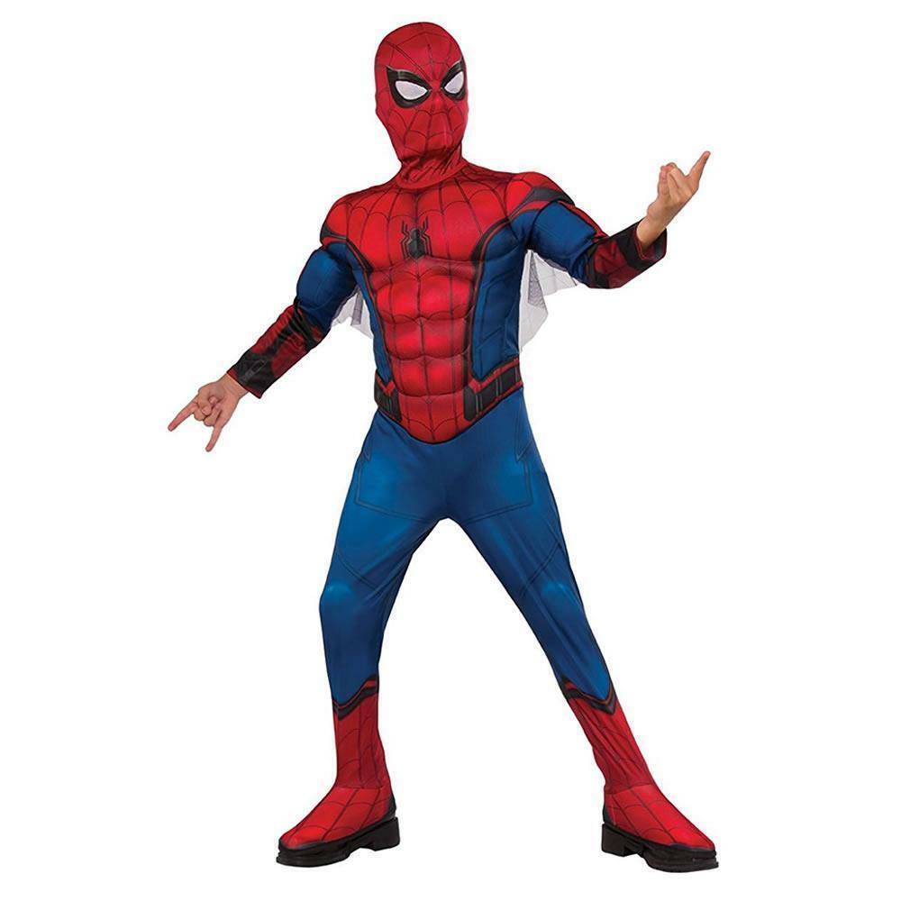 Nuovo Marvel Spiderman Bambino Varie Taglie