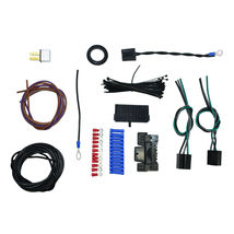 12 Circuit Street Hot Rat Rod Custom Universal Color Wiring Wire Kit XL WIRES image 9