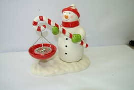 Hallmark Christmas Snowman Wax Warmer - Candle Holder 1XRC4662 - $23.99