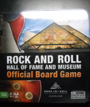 Ideal 2010 Rock And Roll Hall Of Fame Museum Official Board Game Sealed ... - $11.99