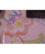 Cynthia Rowley Arilla Pink Blue Green Yellow Floral Duvet Cover Set Full... - $73.00