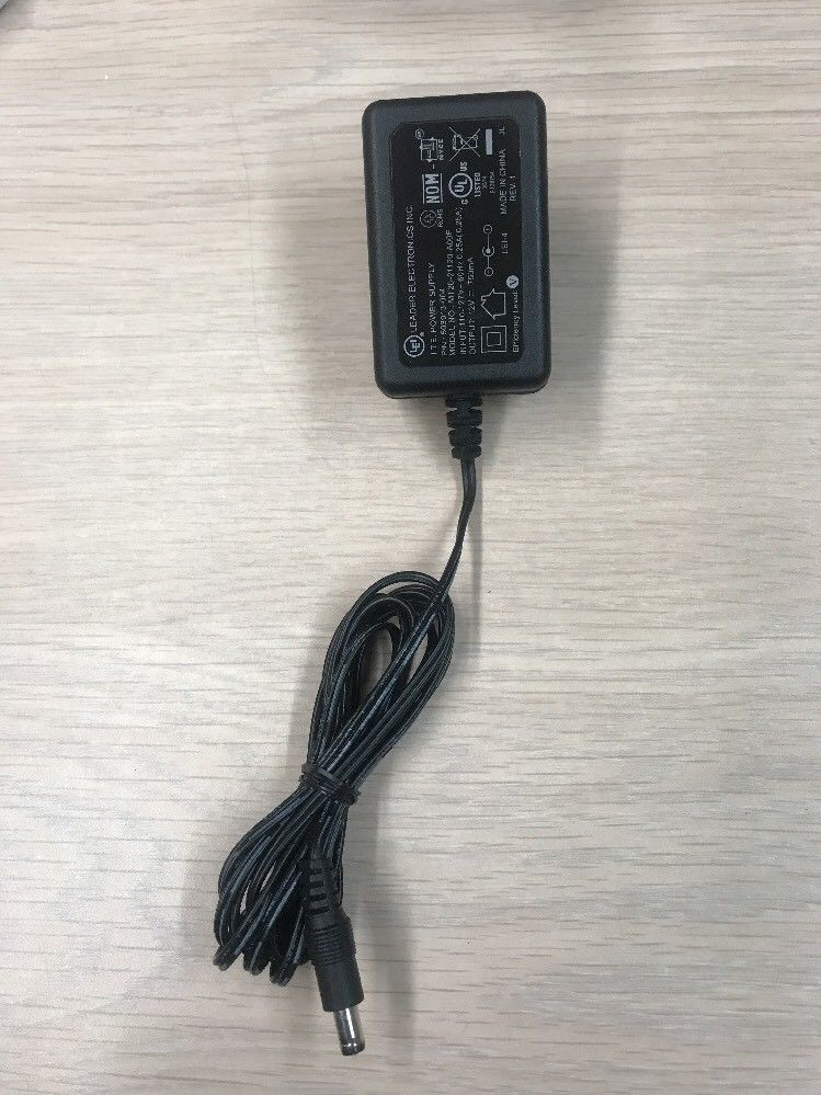 LEI MT20-21120-A00F AC Power Supply Adapter Charger Output: 12V DC 750mA      P6