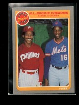 1985 FLEER #634 JUAN SAMUEL/DWIGHT GOODEN NMMT NL ROOKIE PHENOMS - $1.98