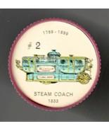 1833 STEAM COACH Jell-O Picture Wheel #2 - $5.00