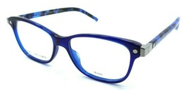 Marc Jacobs Rx Eyeglasses Frames Marc 72 U5H 52-15-140 Blue / Blue Havana - $70.56