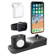 Apple Charging Dock 3 In 1 Docking Station Iphone X 5 6 8 7 Plus Watch Series 3 image 4