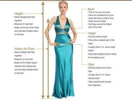 Glittery Princess Side Split V Neck Appliques Lace Boho Wedding Dress image 6