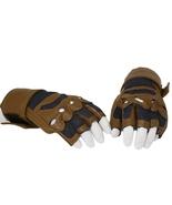 Xcoser New Captain America Brown Fingerless Gloves Captain America Cospl... - $29.99