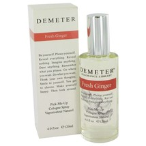 Demeter By Demeter Fresh Ginger Cologne Spray 4 Oz 455610 - $25.52