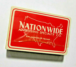 Nationwide Advertising Specialty Co. Souvenir Liberty USA Playing Cards   (#19)
