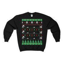 bowlers bowling christmas ugly sweatshirt - $29.95+