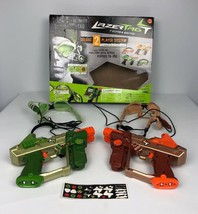 Hasbro Lazer Tag Team Ops Deluxe 2-Player System Tiger Electronics Laser... - $22.80