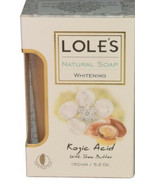 Loles Natural Whitening Soap With Kojic Acid And Shea Butter - $7.99