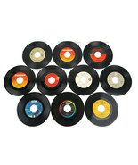 1980's 45 RPM 10 Record Lot Queen Quiet Riot Yes Styx Journey Foreigner  - $23.34