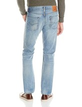 Levi's Strauss 513 Men's Slim Straight Fit Distressed Jeans Thrasher 513-0700 image 2