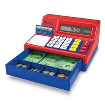 Learning Resources Pretend & Play Calculator Cash Register, Learn Basic ... - $46.74