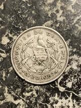 1957 Guatemala 5 Centavos Lot#Q4260 Silver! - $7.70