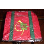 Miles Kimball Tote Bag Shopping Ugly Christmas Sweater Accessory New  - $9.99