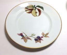"""Royal Worcester Porcelain Gold Trim Evesham Bread & Butter Plate s 6 5/8"""" - $9.88"""