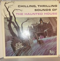 DISNEY Chilling, Thrilling Sounds Of The HAUNTED HOUSE LP / Record / Hal... - $10.88