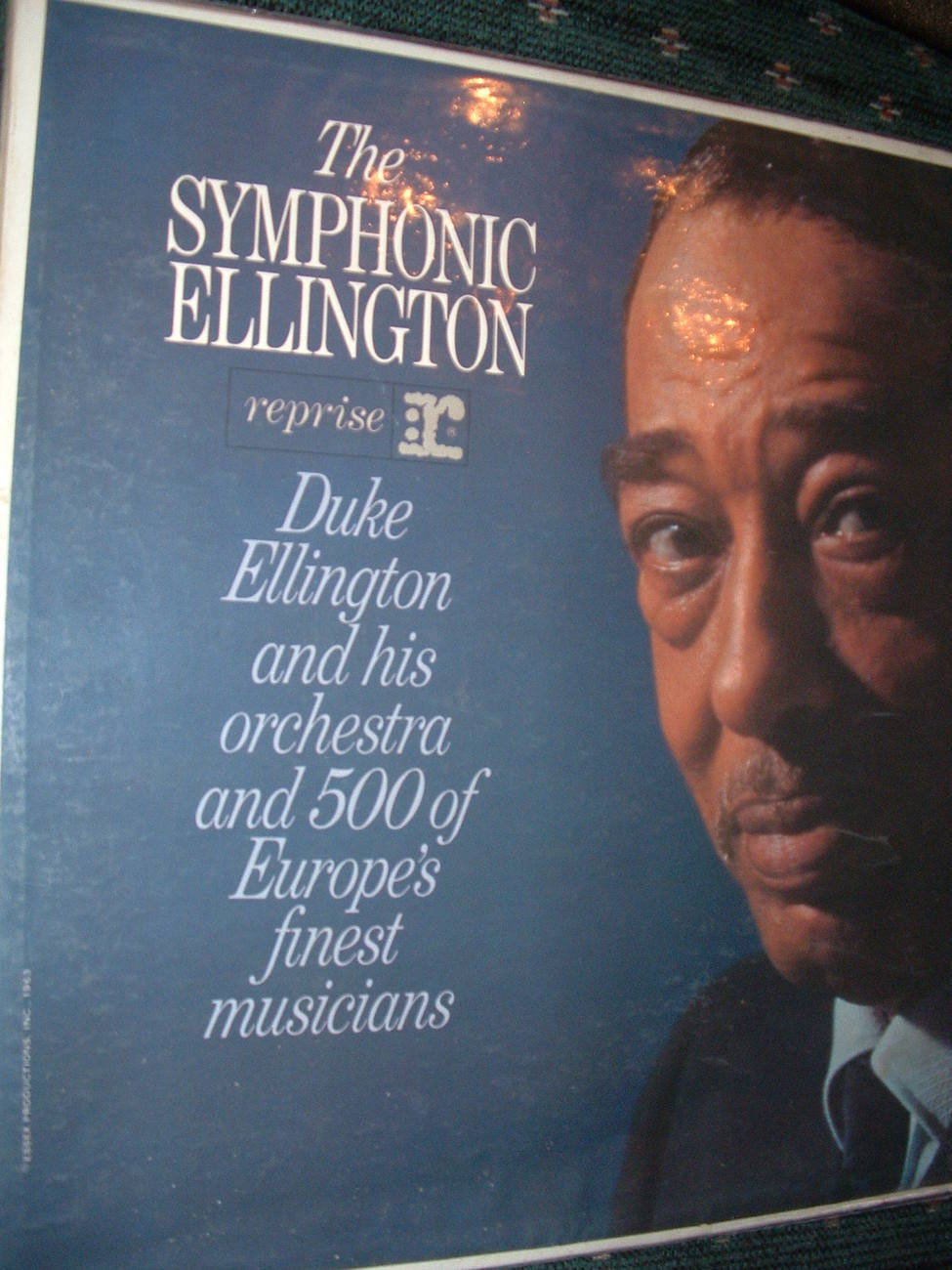 Primary image for 1963 DUKE ELLINGTON / SYMPHONIC ELLINGTON LP 33 RPM