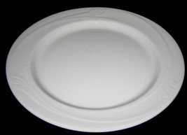 "12 Oneida ESPREE ACCENT Swirls Restaurant China Luncheon Plates 9"" - $90.00"