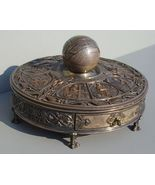ANTIQUE  INKWELL with Drawer from The London Crystal Palace - Museum Piece - $7,000.00