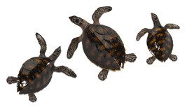 Sea Turtle Wall Decor - Set of 3 - $143.52