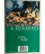 CIVIL WAR Young Avengers & Runaways #1 (2006) Marvel Comics FINE- - $10.88