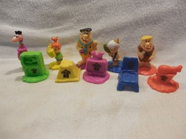 Flintstones 1991 Hardee's Complete Kid's Meal Premium Set of 5 - $14.95