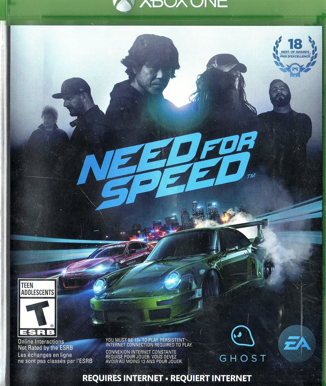 Need for Speed - Microsoft Xbox One, 2015