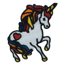 Unicorn Embroidered Iron on Sew on PatchBadge For Clothes - $4.94