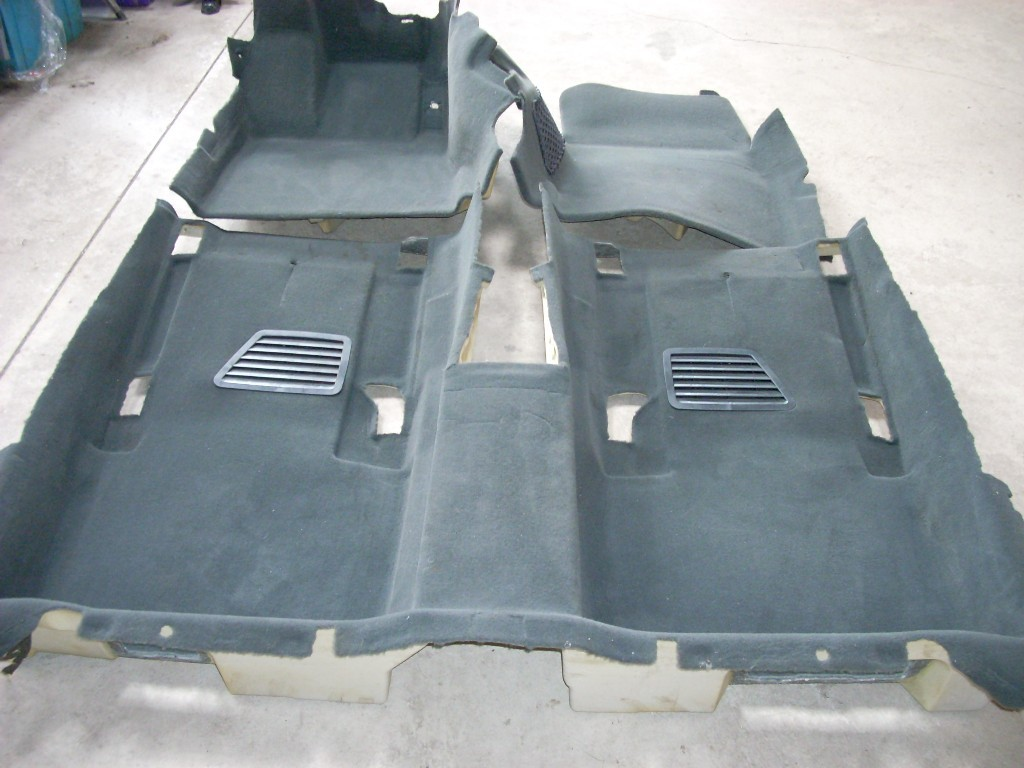 2001 2002 MERCEDES S55 AMG S-CLASS ENTIRE INTERIOR FLOOR CARPET GENUINE OEM
