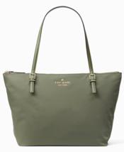 Kate Spade Nylon Tote Shopper Top Zip WATSON LANE MAYA **Olive Green** N... - £132.95 GBP