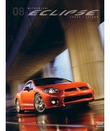 2008 Mitsubishi ECLIPSE sales brochure catalog 08 US Spyder - $10.00