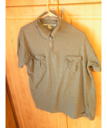Paper Denim & Cloth Men's XL Now A Large Grey Cotton Button Shirt - $12.65
